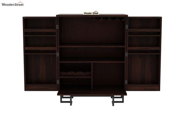 Zimer Bar Cabinet (Walnut Finish)-6