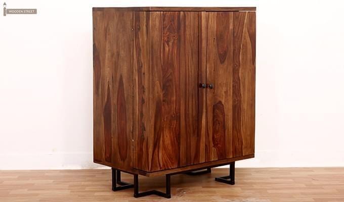 Zimer Cabinet (Teak Finish) -1