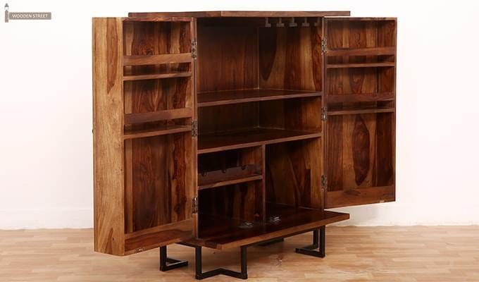 Zimer Cabinet (Teak Finish) -3