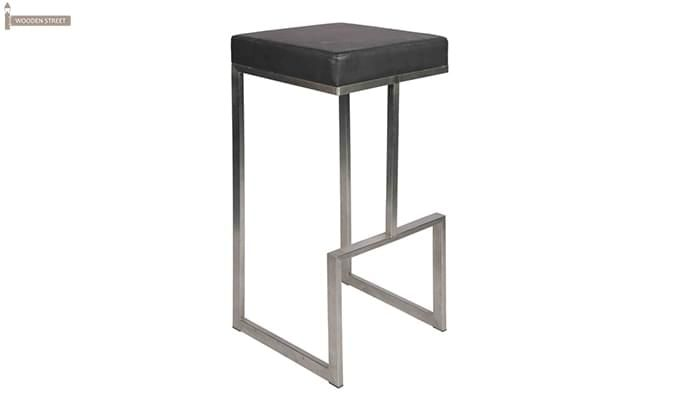 Avish Bar Stool (Grey)-1