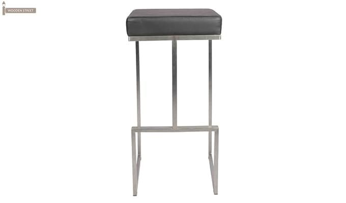 Avish Bar Stool (Grey)-2