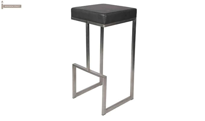 Avish Bar Stool (Grey)-3
