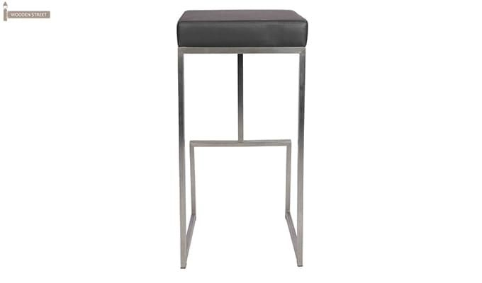 Avish Bar Stool (Grey)-4