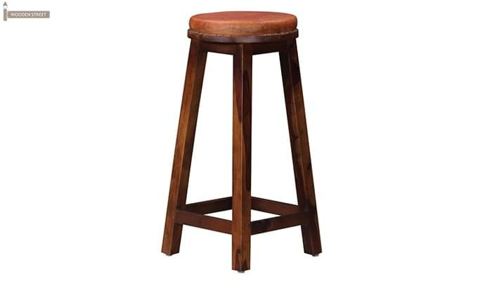 Adcock Bar Stool (Teak Finish)-1