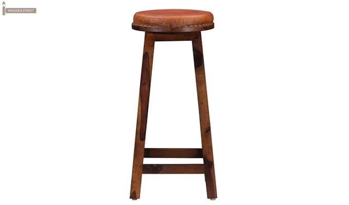 Adcock Bar Stool (Teak Finish)-2
