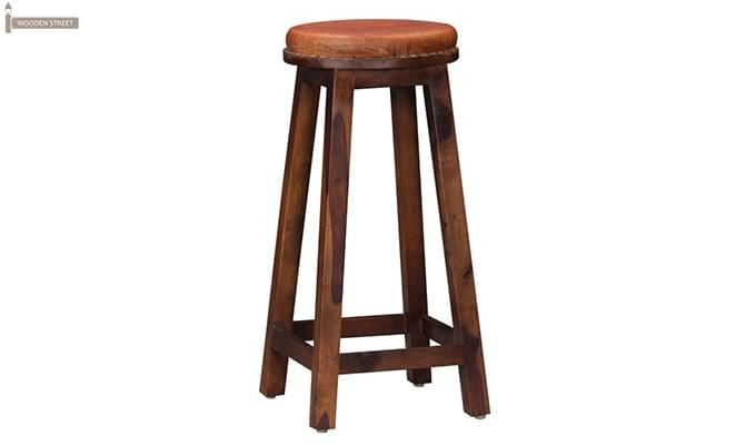 Adcock Bar Stool (Teak Finish)-3