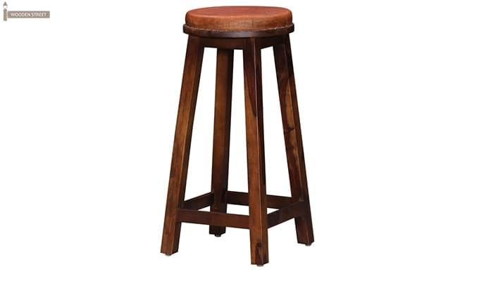 Adcock Bar Stool (Teak Finish)-4