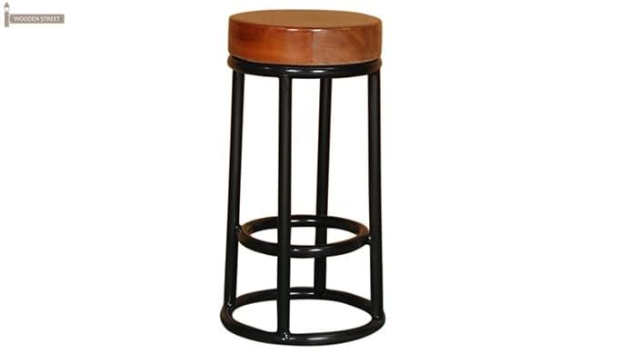 Burgoyne Bar Stool (Black Finish)-1