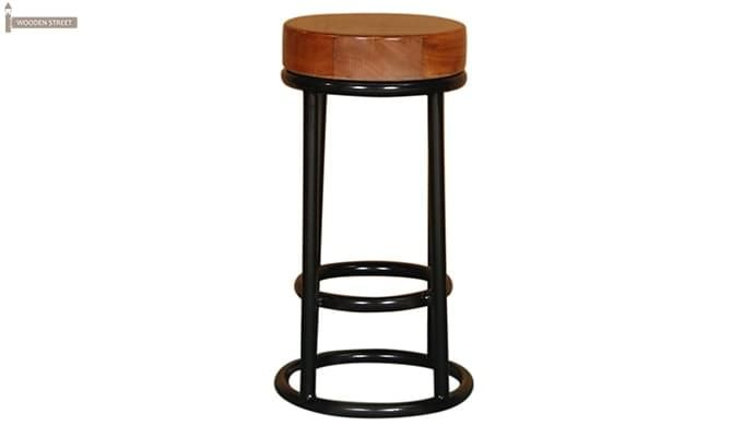 Burgoyne Bar Stool (Black Finish)-2