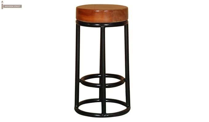 Burgoyne Bar Stool (Black Finish)-3