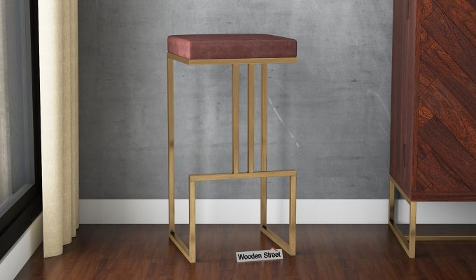 Surprising Buy Jett Bar Stool Online In India Wooden Street Caraccident5 Cool Chair Designs And Ideas Caraccident5Info