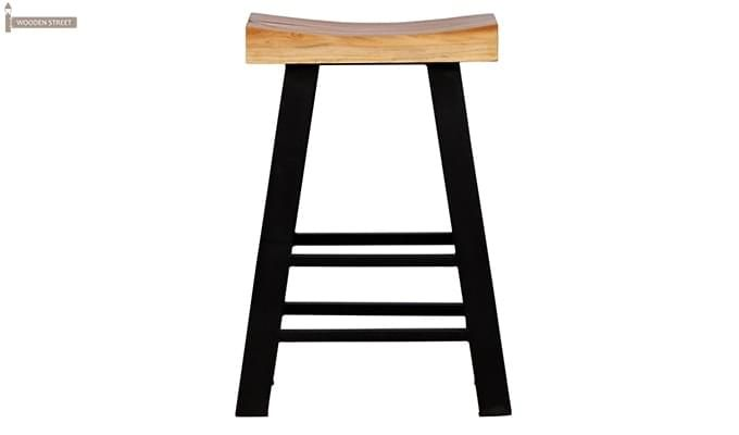 Mckeigh Bar Stool (Black Finish)-2