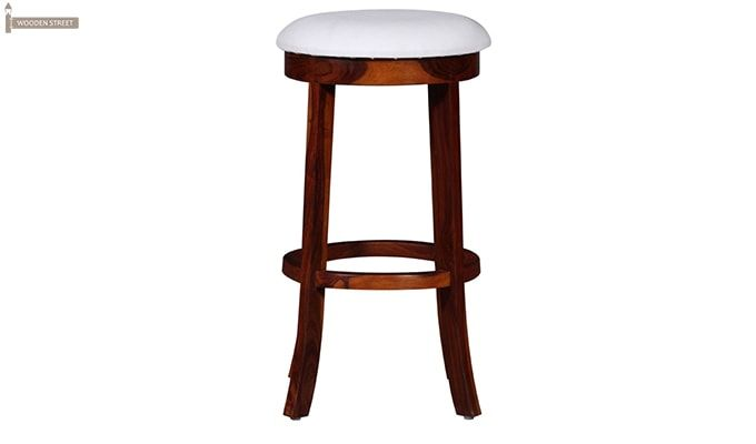 Maher Bar Stool (Mahogany Finish)-3