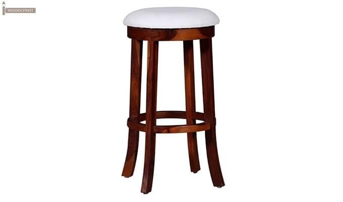 Maher Bar Stool (Mahogany Finish)-2