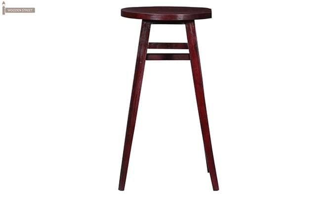 Sheshan Bar Stool (Mahogany Finish)-2