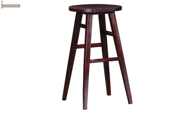 Sheshan Bar Stool (Mahogany Finish)-3