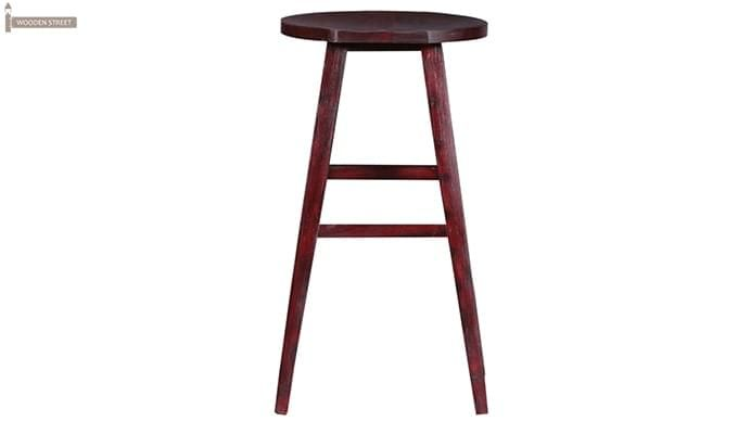 Sheshan Bar Stool (Mahogany Finish)-4