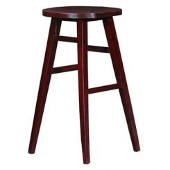 Sheshan Bar Stool (Mahogany Finish)