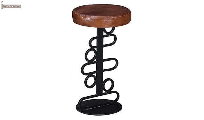 Urby Bar Stool (Black Finish)-1