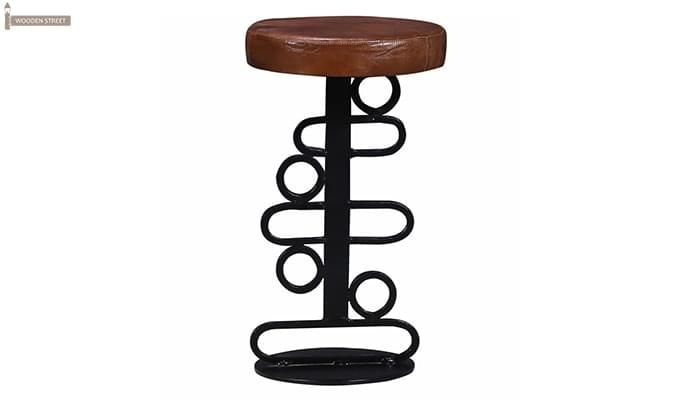 Urby Bar Stool (Black Finish)-2