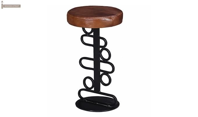Urby Bar Stool (Black Finish)-3