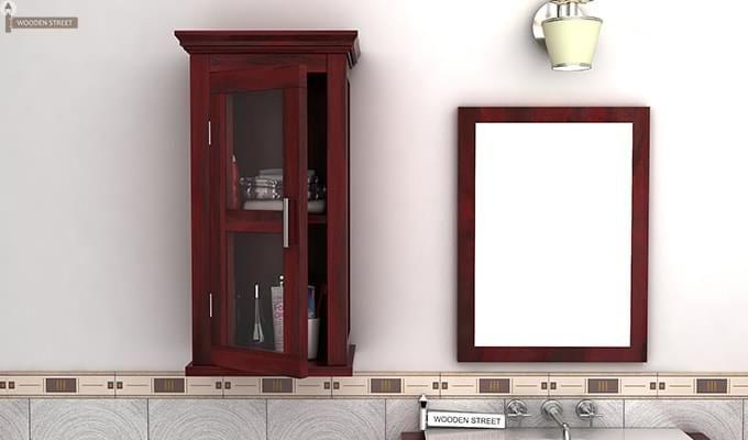 Benitez Bathroom Cabinet (Mahogany Finish)-1