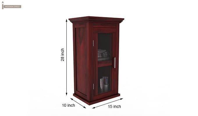 Benitez Bathroom Cabinet (Mahogany Finish)-6