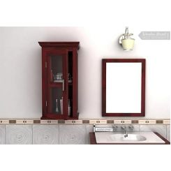Benitez Bathroom Cabinet (Mahogany Finish)