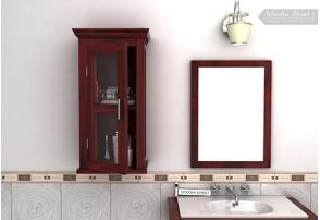 buy bathroom cabinets cupboards online in india low price rh woodenstreet com bathroom cabinets wooden white bathroom cabinets wooden white
