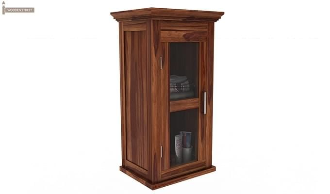 Benitez Bathroom Cabinet (Teak Finish)-2