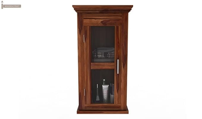 Benitez Bathroom Cabinet (Teak Finish)-3