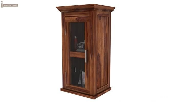 Benitez Bathroom Cabinet (Teak Finish)-4