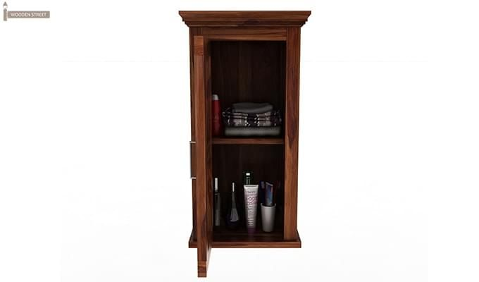 Benitez Bathroom Cabinet (Teak Finish)-5
