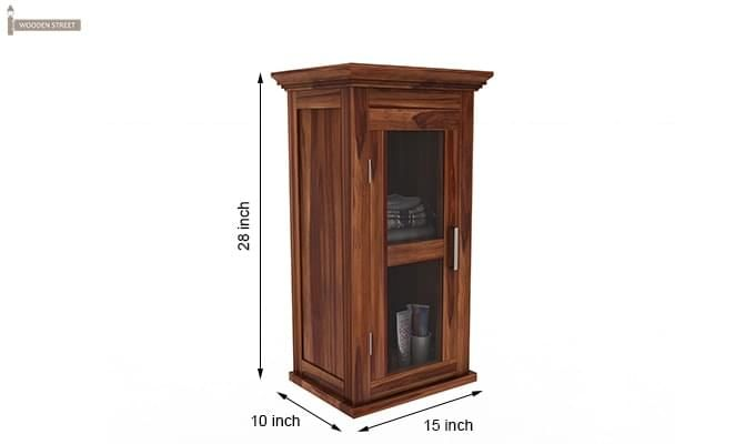 Benitez Bathroom Cabinet (Teak Finish)-6