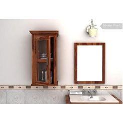 Benitez Bathroom Cabinet (Teak Finish)