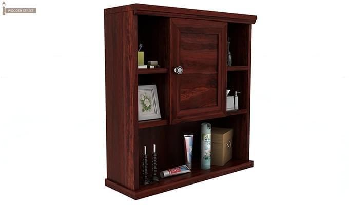 Cuevas Bathroom Cabinet (Mahogany Finish)-2