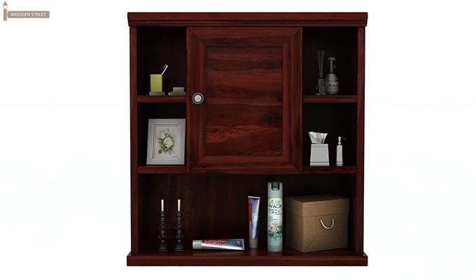 Cuevas Bathroom Cabinet (Mahogany Finish)-3