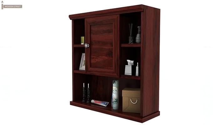 Cuevas Bathroom Cabinet (Mahogany Finish)-4