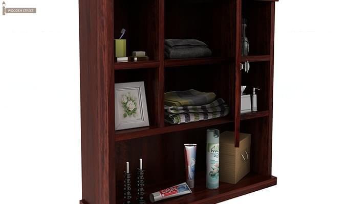 Cuevas Bathroom Cabinet (Mahogany Finish)-5