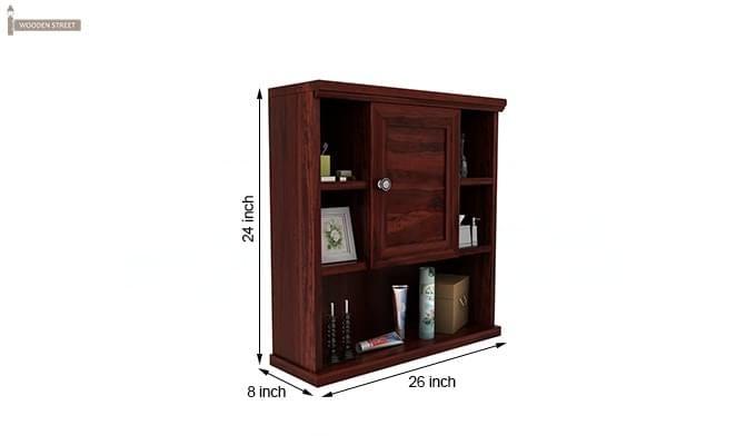 Cuevas Bathroom Cabinet (Mahogany Finish)-6