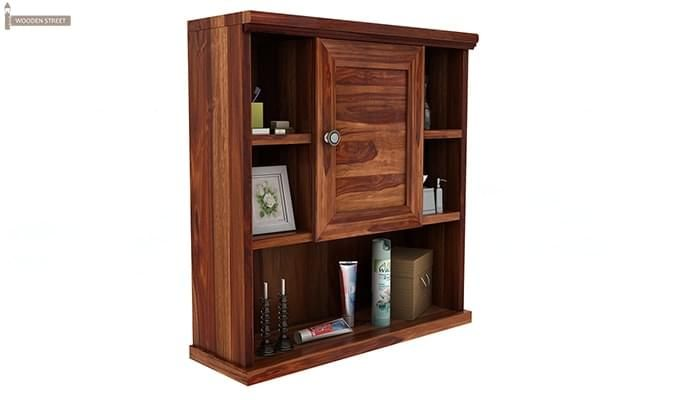 Cuevas Bathroom Cabinet (Teak Finish)-2