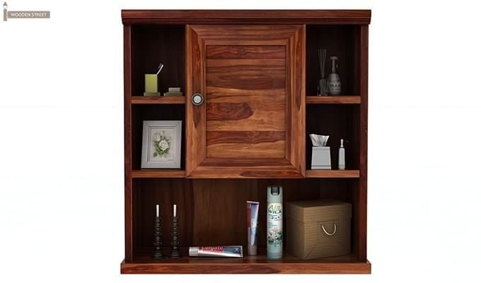 Cuevas Bathroom Cabinet (Teak Finish)-3