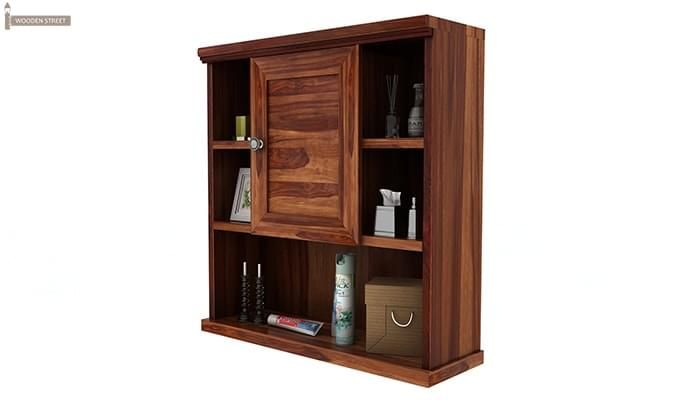 Cuevas Bathroom Cabinet (Teak Finish)-4