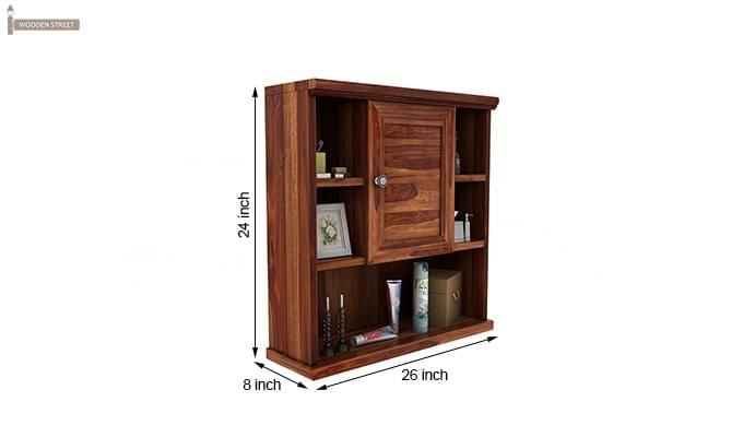 Cuevas Bathroom Cabinet (Teak Finish)-6