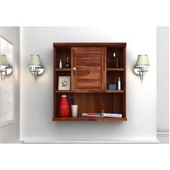 Cuevas Bathroom Cabinet (Teak Finish)
