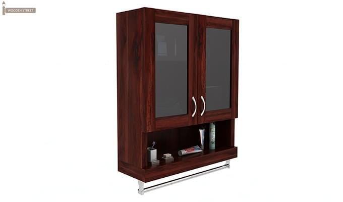 Davies Bathroom Cabinet (Mahogany Finish)-2