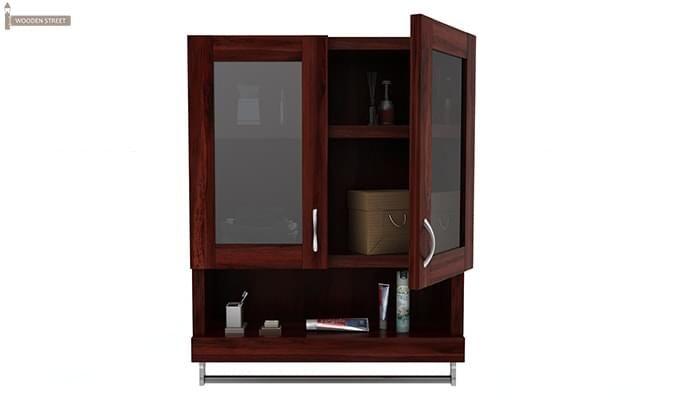 Davies Bathroom Cabinet (Mahogany Finish)-3