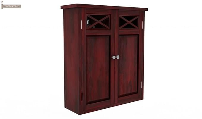 Esparza Bathroom Cabinet (Mahogany Finish)-2
