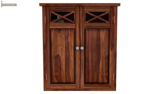 Esparza Bathroom Cabinet (Teak Finish)-3