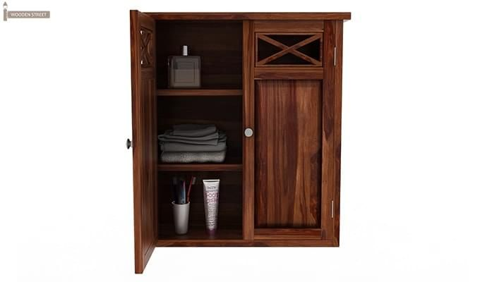 Esparza Bathroom Cabinet (Teak Finish)-5